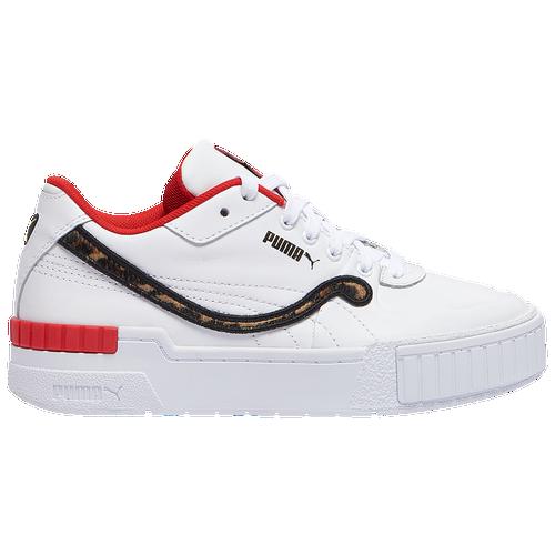 PUMA Cali Sport - Women's Training Shoes - Animal / White - 37140801-100