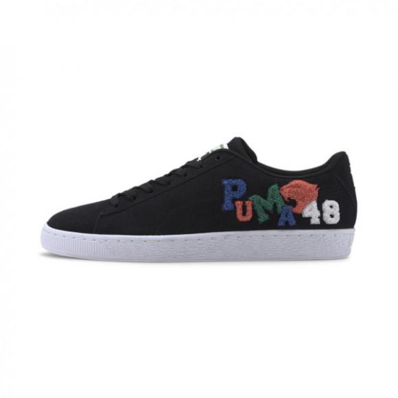 PUMA Suede Classic Badges Men's Sneakers in Black/White - 371580-01
