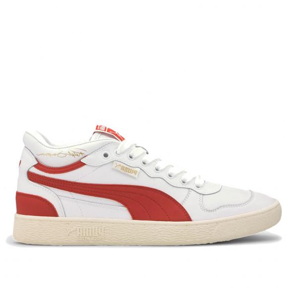 PUMA Ralph Sampson Demi OG Men's Sneakers in Pale White/High Risk Red/W White - 371683-07