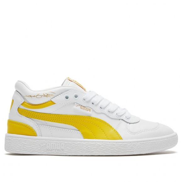 PUMA Ralph Sampson Demi OG Men's Sneakers in Pale White/Super Lemon/Pale White - 371683-08