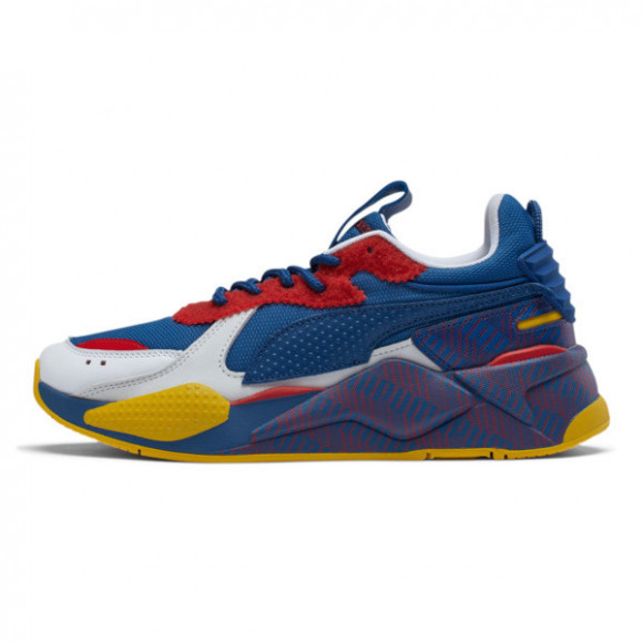 PUMA Mens PUMA RS-X - Mens Shoes Subvert Blue/Yellow/Red/White Size 11.0 - 371860-01