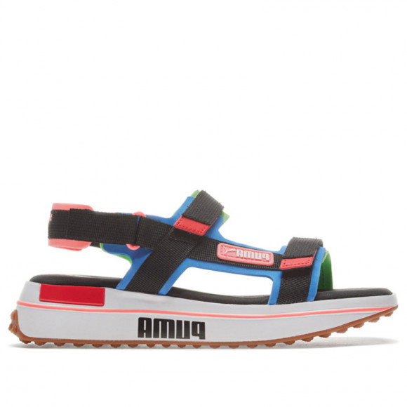 PUMA Future Rider Game On Sandals in Palace Blue/Pb/Fluo Green - 371964-01