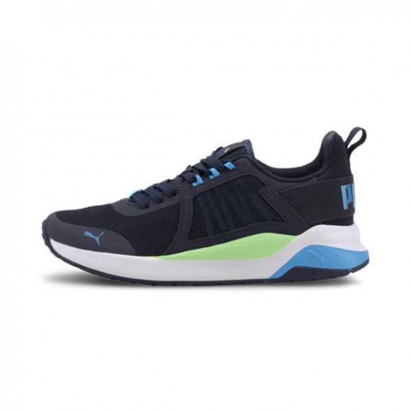 PUMA Anzarun Sneakers JR in Peacoat/Blue/Green - 372035-04