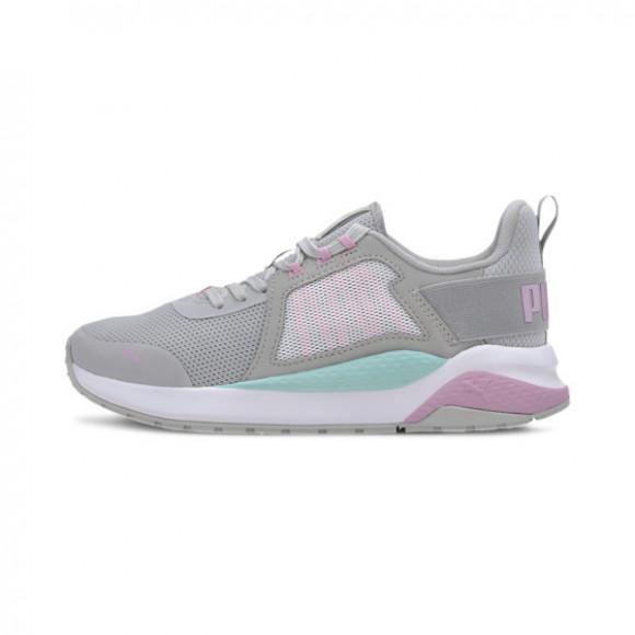PUMA Anzarun Sneakers JR in Grey/Pale Pink/Aruba Blue - 372035-05