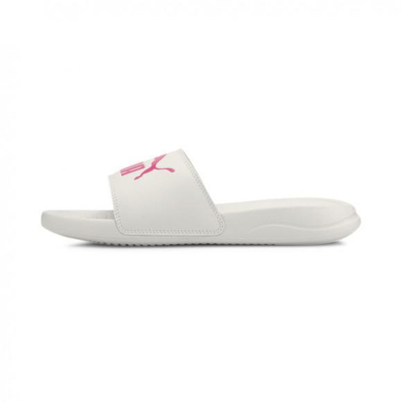 PUMA Popcat 20 Slides in Vaporous Grey/Glowing Pink - 372279-13