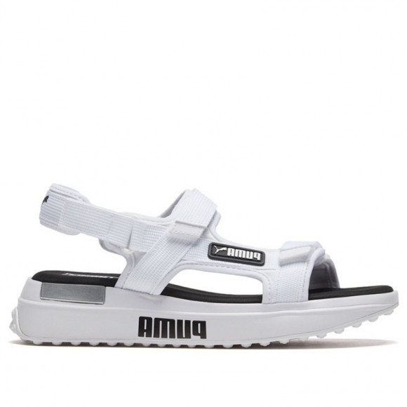 PUMA Future Rider Sandals in White/Black - 372318-02