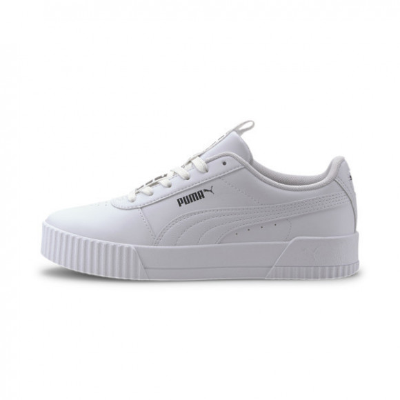 PUMA Carina Bold Women's Sneakers in White, Size 8.5 - 372853-01