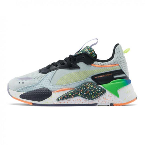 PUMA RS-X Fourth Dimension Sneakers JR in Fair Aqua/Ponderosa Pine - 372856-01