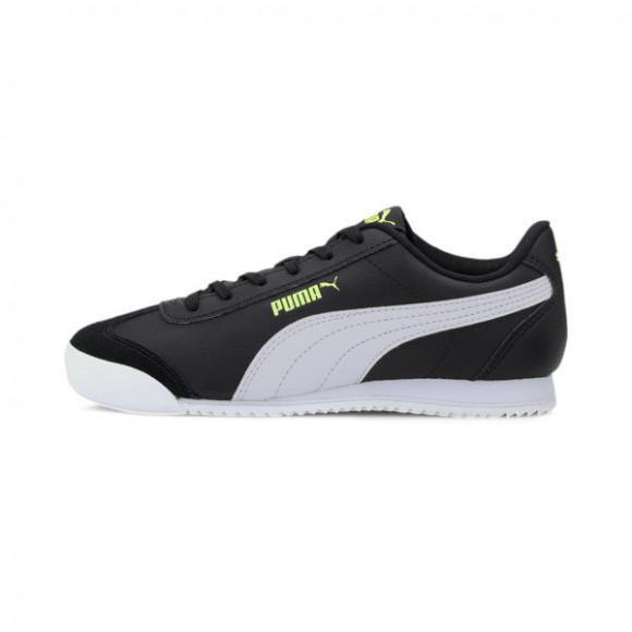 PUMA Turino Sneakers JR in Black/White/Sharp Green - 372895-05