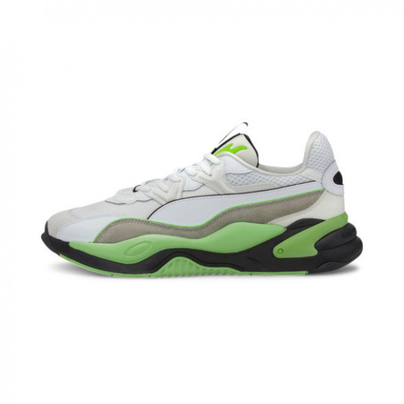 PUMA RS-2K Messaging Men's Sneakers in White/Elektro Green - 372975-01