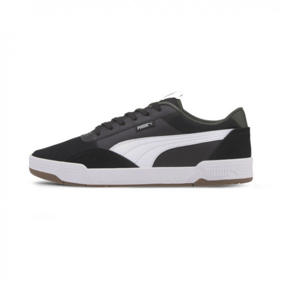 PUMA C-Skate Men's Sneakers in Black/White, Size 8 - 373029-03