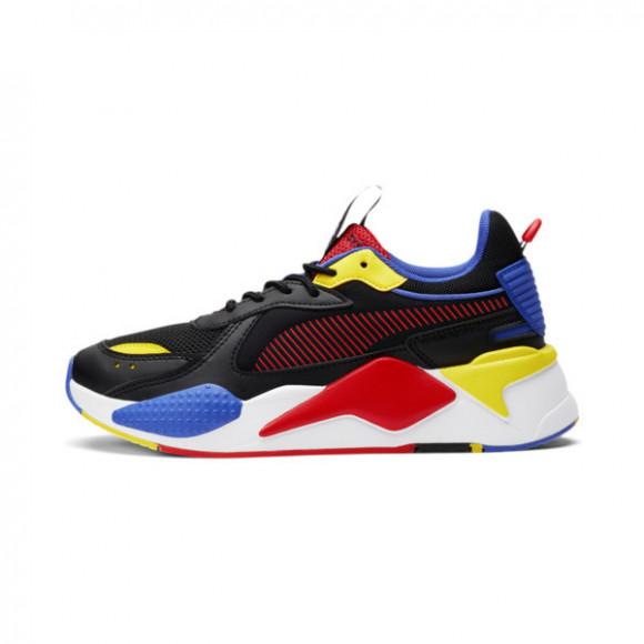 PUMA RS-X Core Sneakers JR in Black/Poppy Red/Dazzling Blue - 373091-06