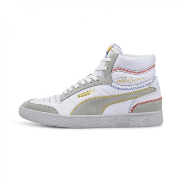 PUMA Ralph Sampson Mid Stitch Men's Sneakers in White - 373340-02
