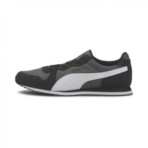 PUMA Cabana Run Men's Sneakers in Dark Shadow/Black/White - 373393-01