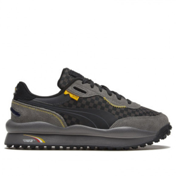 PUMA x RANDOMEVENT Style Rider Men's Sneakers in Asphalt Grey, Size 7.5 - 373458-01
