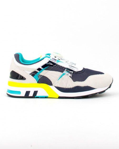 PUMA XS 7000 Vintage Men's Sneakers in White/Scuba Blue - 373555-04