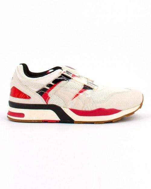 PUMA XS 7000 Vintage Men's Sneakers in Whisper White/American Beauty - 373555-06