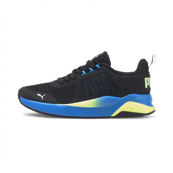 PUMA Anzarun Interest Mesh Sneakers JR in Pb/Nrgy Blue/Fizzy Yellow - 373558-06