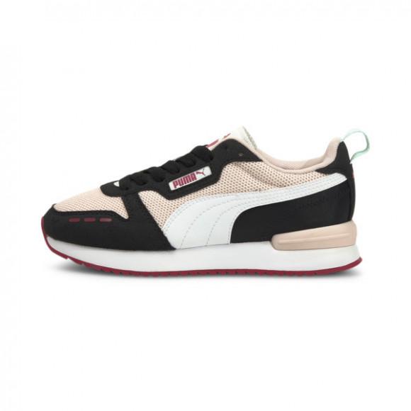 PUMA R78 Sneakers JR in Lotus/White/Black - 373616-20