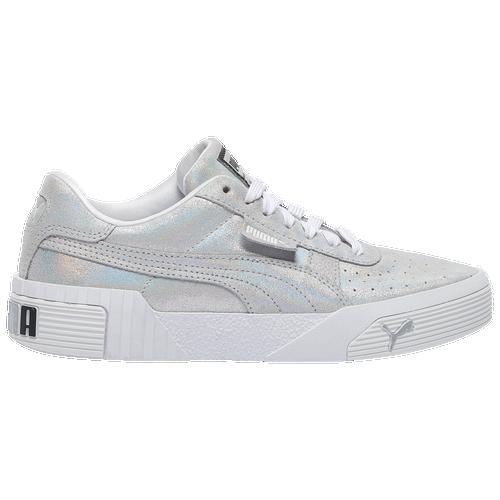 PUMA Cali - Women's Training Shoes - Silver - 37373701