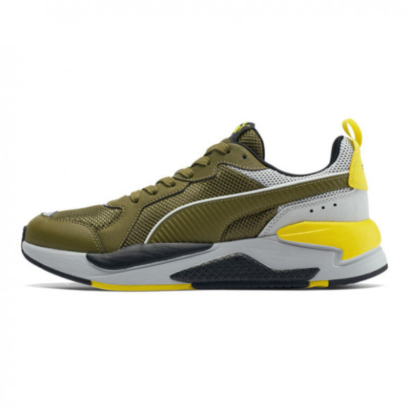 PUMA X-RAY Mesh Men's Sneakers in Dark Olive/High Rise, Size 9.5 - 373773-01