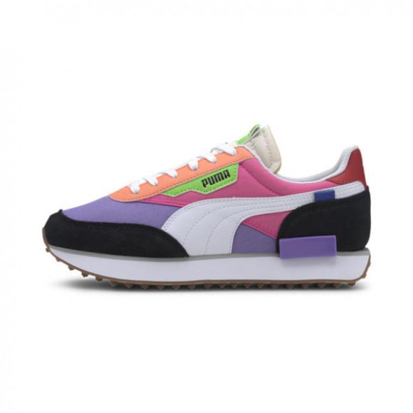 PUMA Womens PUMA Future Rider - Womens Shoes Luminous Purple/Fluorescent Pink/Orange Size 06.0 - 373792-03