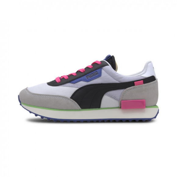 PUMA Womens PUMA Future Rider - Womens Shoes White/Gray Violet/Black Size 08.5 - 373792-07