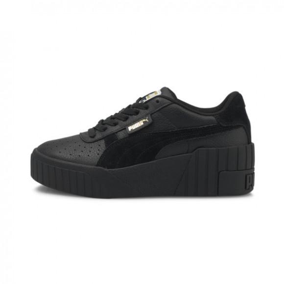 PUMA Cali Wedge Mix Women's Sneakers in Black - 373906-06