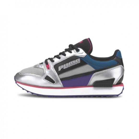 PUMA Mile Rider Wonder Galaxy Women's Sneakers in Black/Digi/Blue, Size 10 - 373944-01