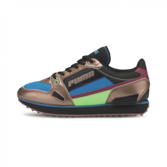 PUMA Mile Rider Wonder Galaxy Women's Sneakers in Rose Gold/Dresden Blue - 373944-02