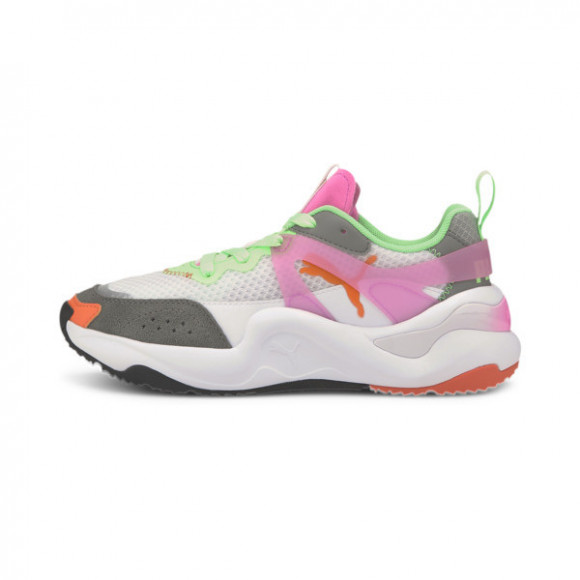 PUMA Rise Tulle Women's Sneakers in Luminous Pink/White - 373946-01