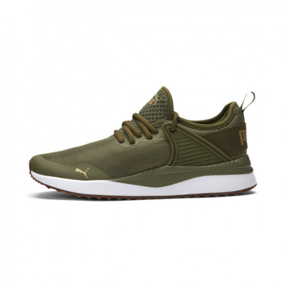 PUMA Pacer Next Cage Fresh Women's Sneakers in Burnt Olive/White/Gum - 373983-02