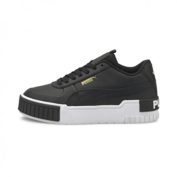 PUMA Cali Sport Sneakers JR in Black/White - 374184-02