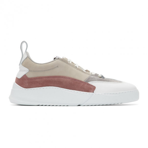 Filling Pieces Grey and White Denver Speed Split Sneakers - 3742764