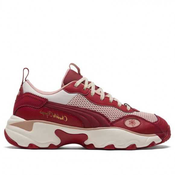 PUMA x CHARLOTTE OLYMPIA Pulsar Women's Sneakers in Red Dahlia - 374339-01