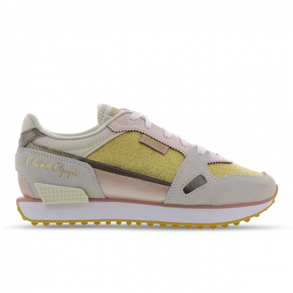 PUMA x CHARLOTTE OLYMPIA Mile Rider Women's Sneakers in White/Misty Rose - 374340-01