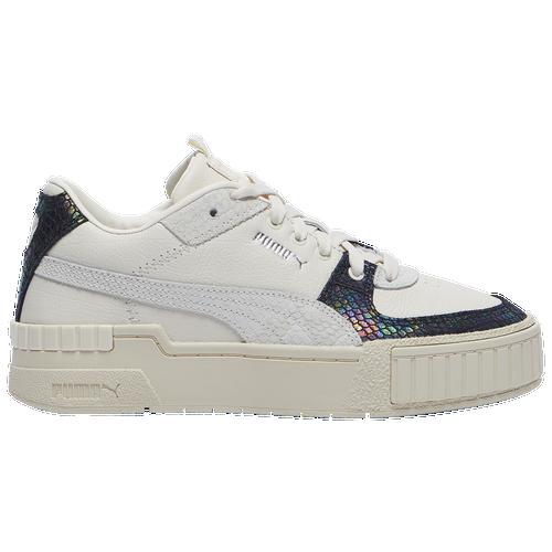 PUMA Cali Sport - Women's Tennis Shoes - Whisper White / Whisper White - 37435101