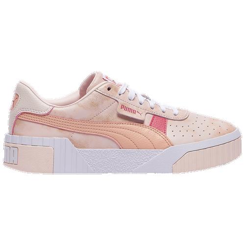 PUMA Cali - Women's Training Shoes - Rosewater Pink / Pink Sand / Rapture Rose - 37453301