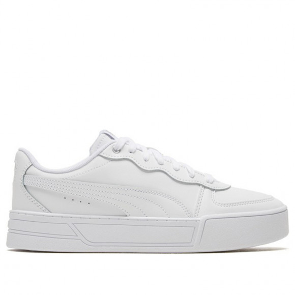 PUMA Skye Women's Sneakers in White/Silver/Grey - 374764-01