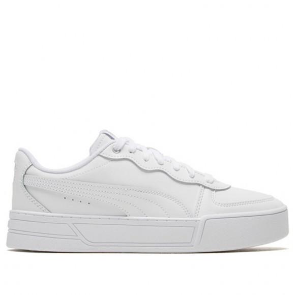 PUMA Skye Women's Sneakers in White/Silver/Grey - 374764-01