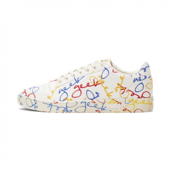 PUMA x FASHION GEEK Ralph Sampson Lo Sneakers in Marshmallow White - 374794-01
