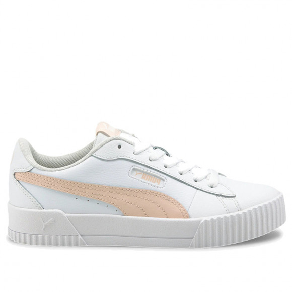 PUMA Carina Crew Women's Sneakers in White/Cloud Pink - 374903-03