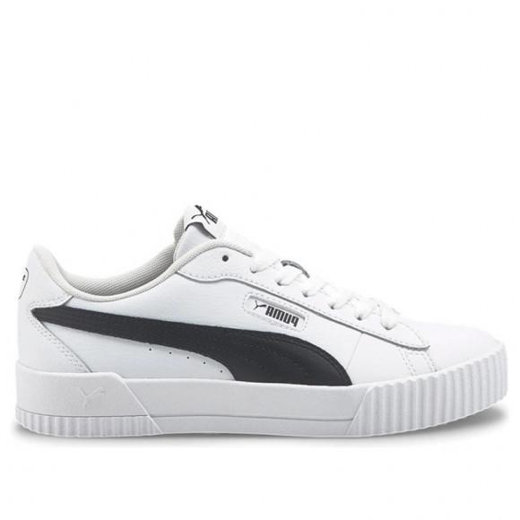 PUMA Carina Crew Women's Sneakers in White/Black - 374903-05