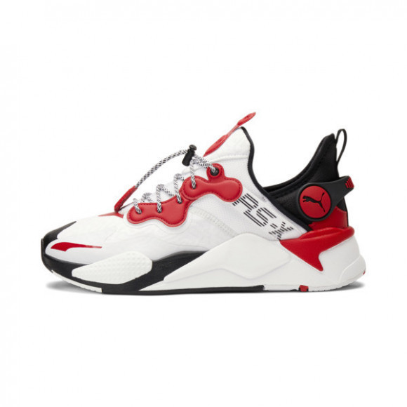 PUMA x THUNDERCATS RS-X T3CH SPEC Sneakers in White/Barbados Cherry/Black - 374914-01
