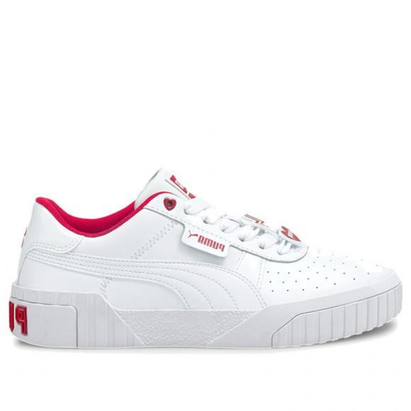 PUMA Cali Galentine's Women's Sneakers in White/Virtual Pink - 374950-01