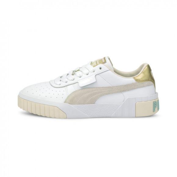 PUMA Cali Soft Glow Women's Sneakers in White/Eggnog - 375046-02