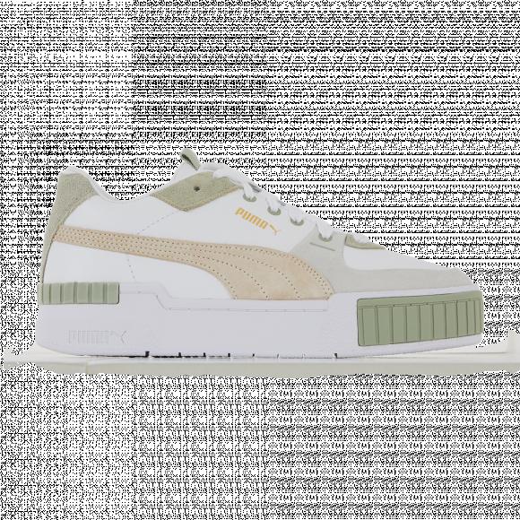 PUMA Cali Sport In Bloom Women's Sneakers in White/Desert Sage