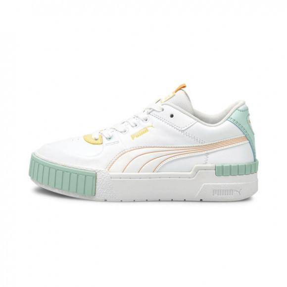 PUMA Cali Sport Pastel Mix Women's Sneakers in White/Peach Cobbler - 375051-02