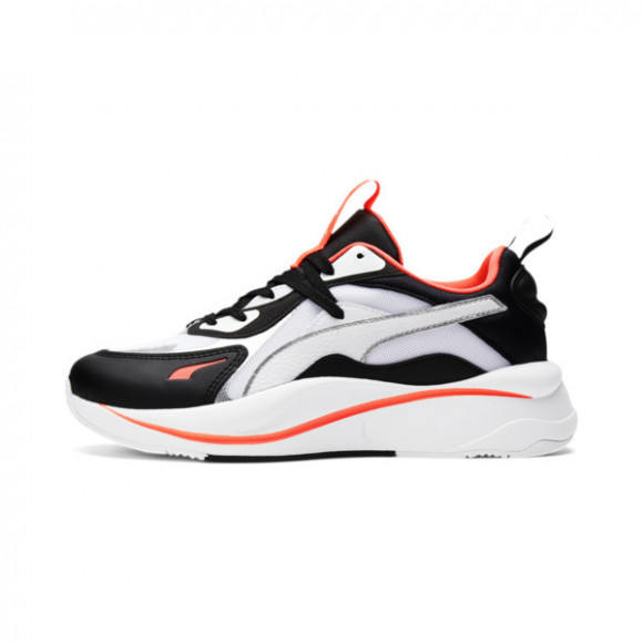PUMA RS-Curve Glow Women's Sneakers in White/Black/Ign Pink - 375174-03