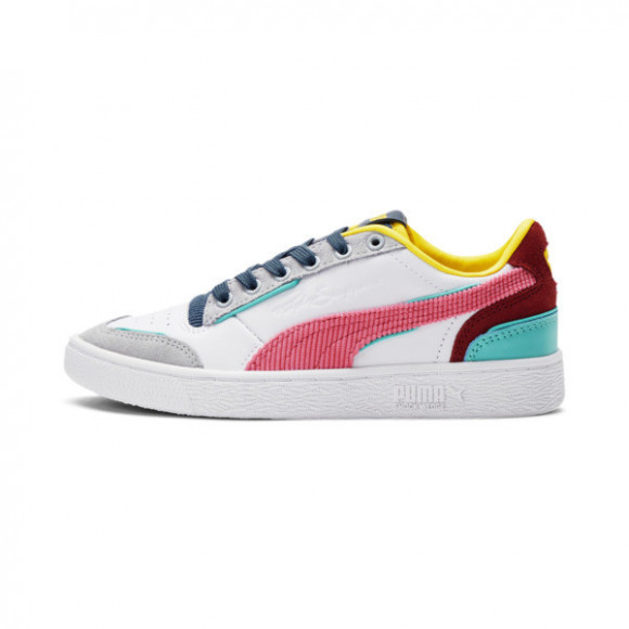 PUMA Ralph Sampson Lo Bubblegum Sneakers JR in Grey - 375252-01